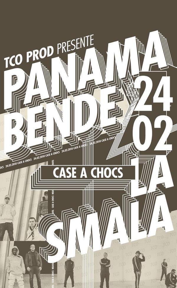 Panama Bende et La Smala en concert