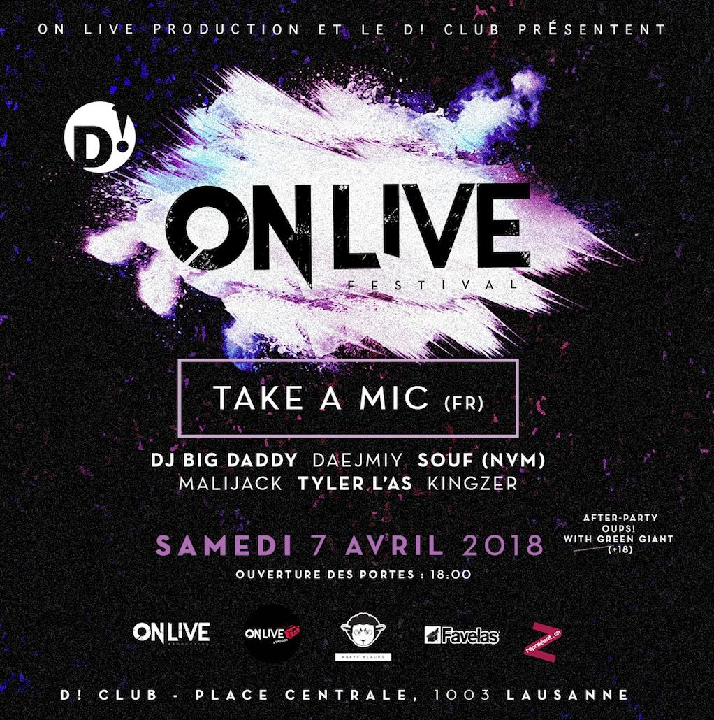 Take a Mic @ D! Club