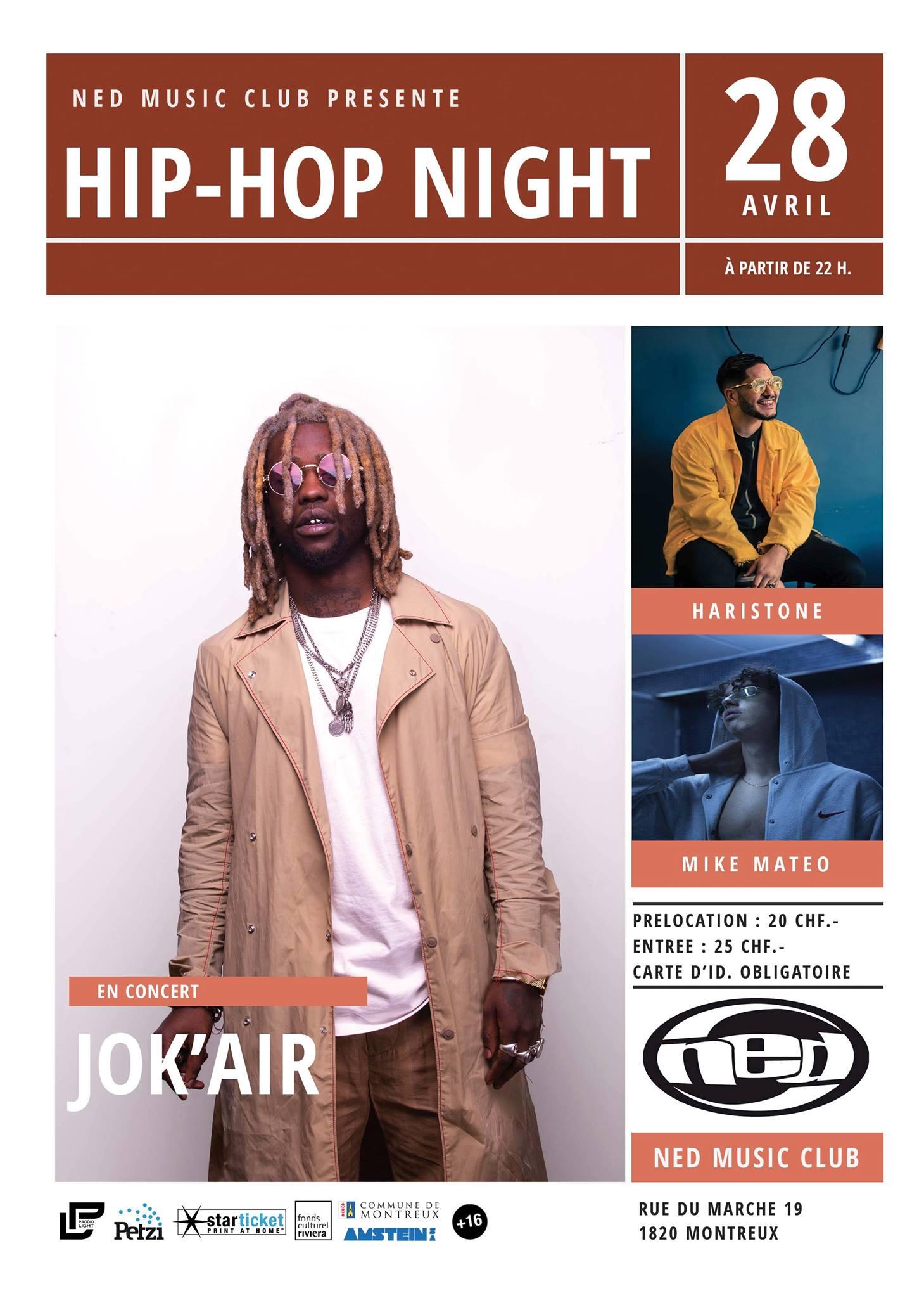 Jok'Air / Haristone @ NED Music Club
