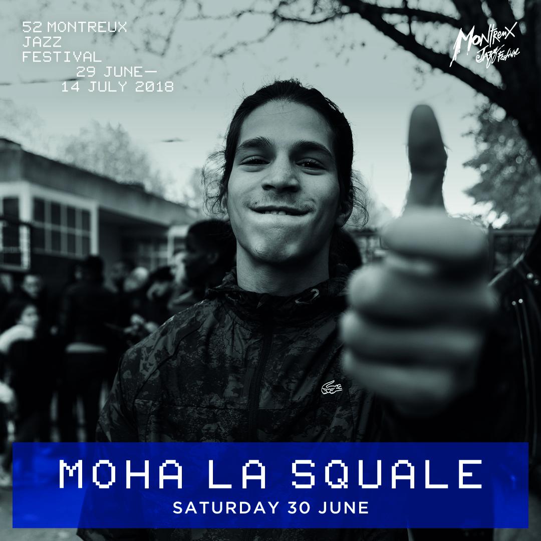 Moha La Squale @ Montreux Jazz Festival