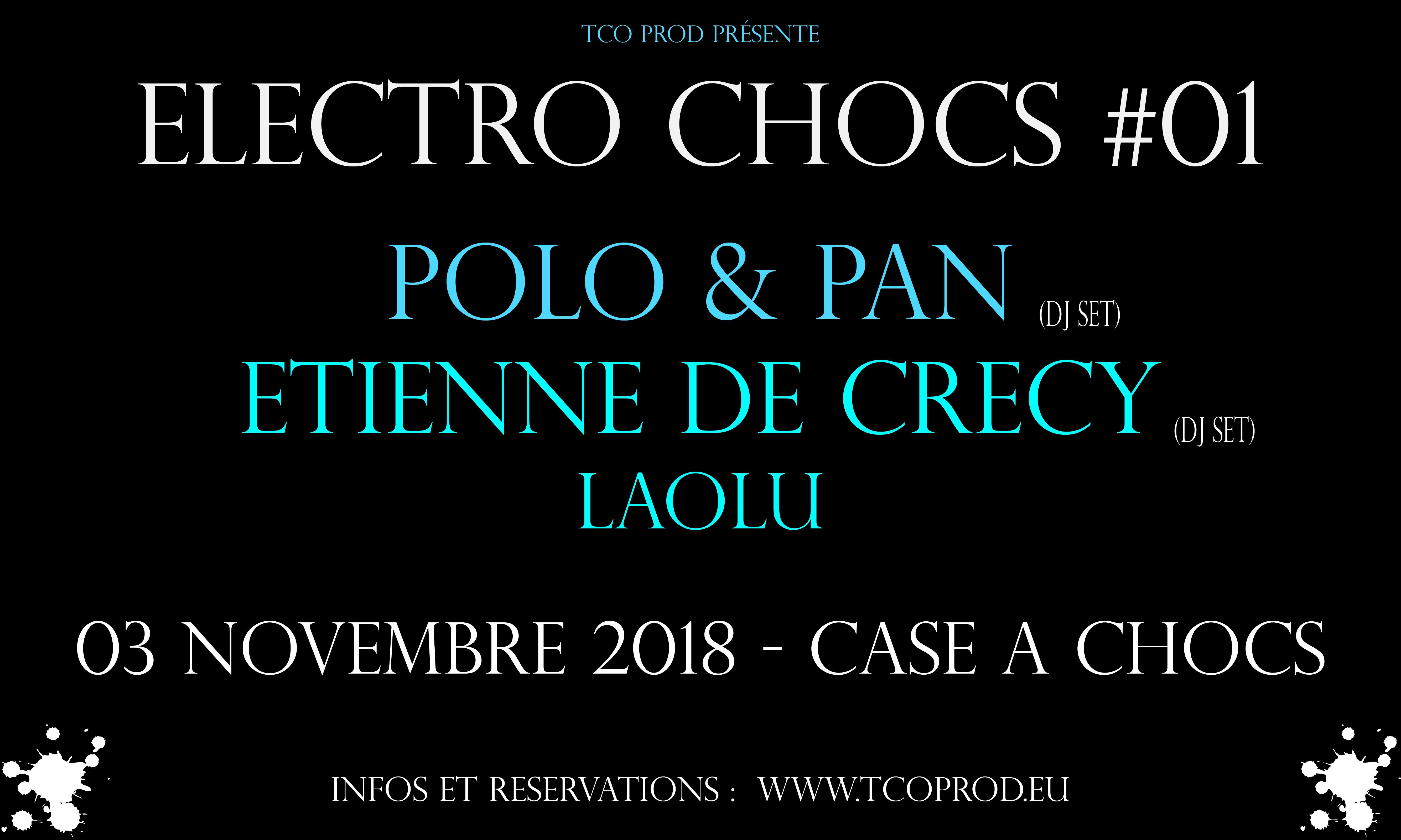 Electro Chocs #01 / Polo&Pan-EDC-Laolu