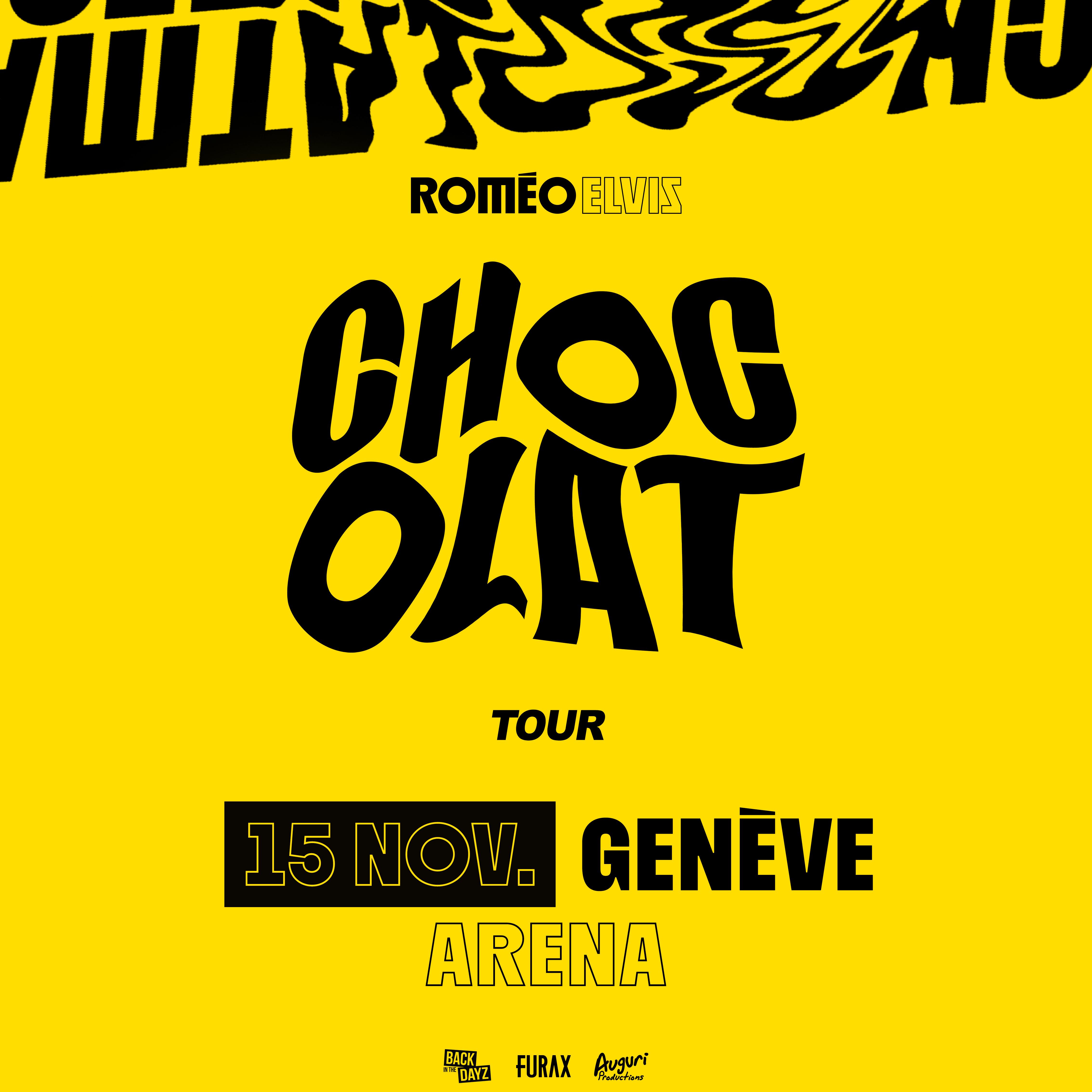 Romeo Elvis @ Arena de Genève