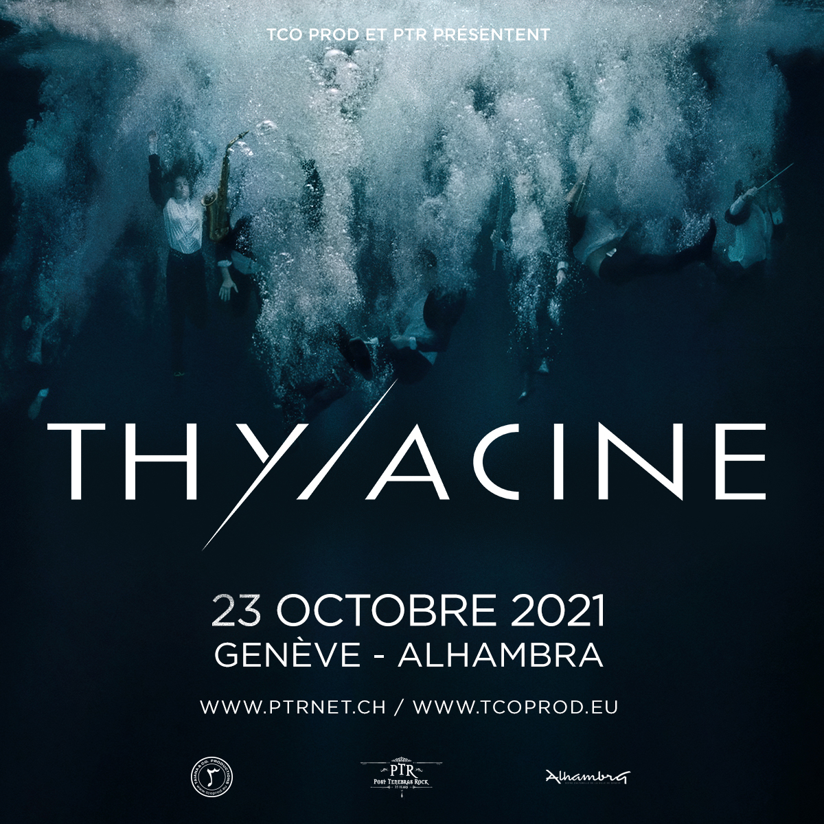 Thylacine @ Alhambra Genève
