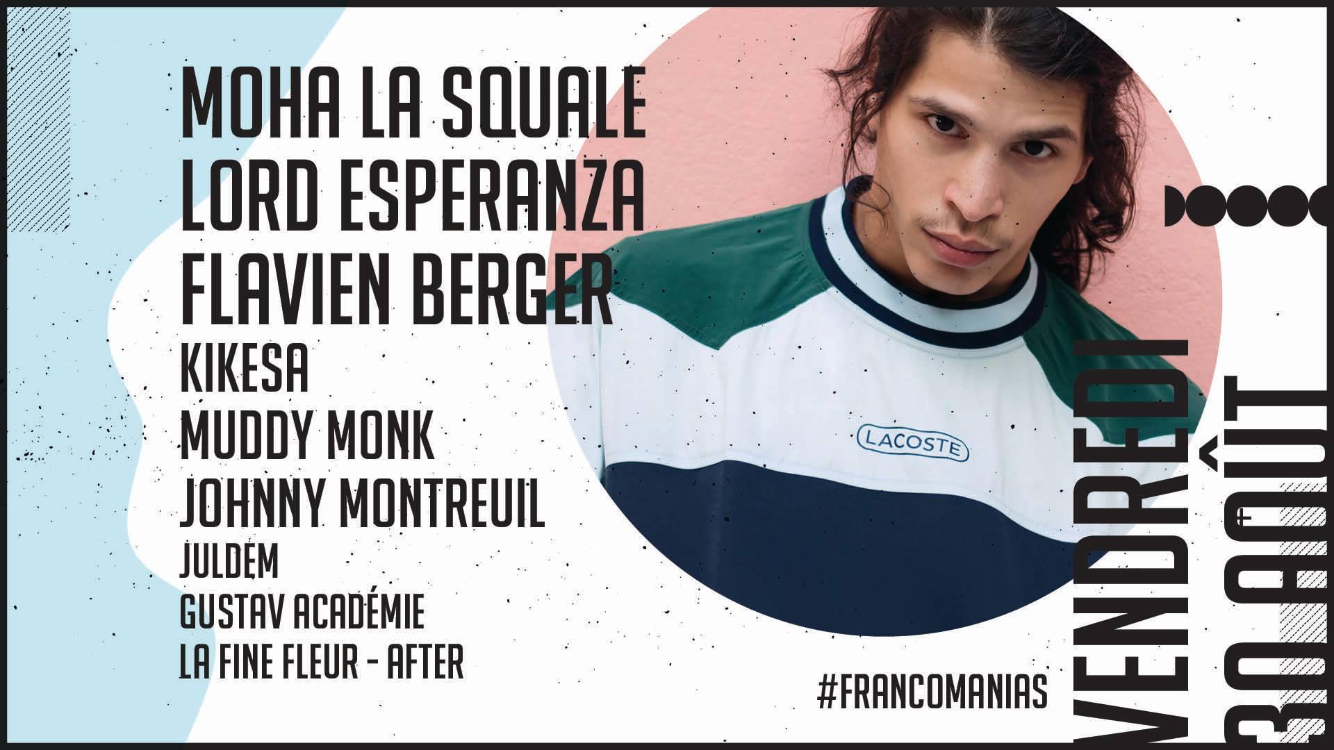 Moha La Squale @ Francomanias