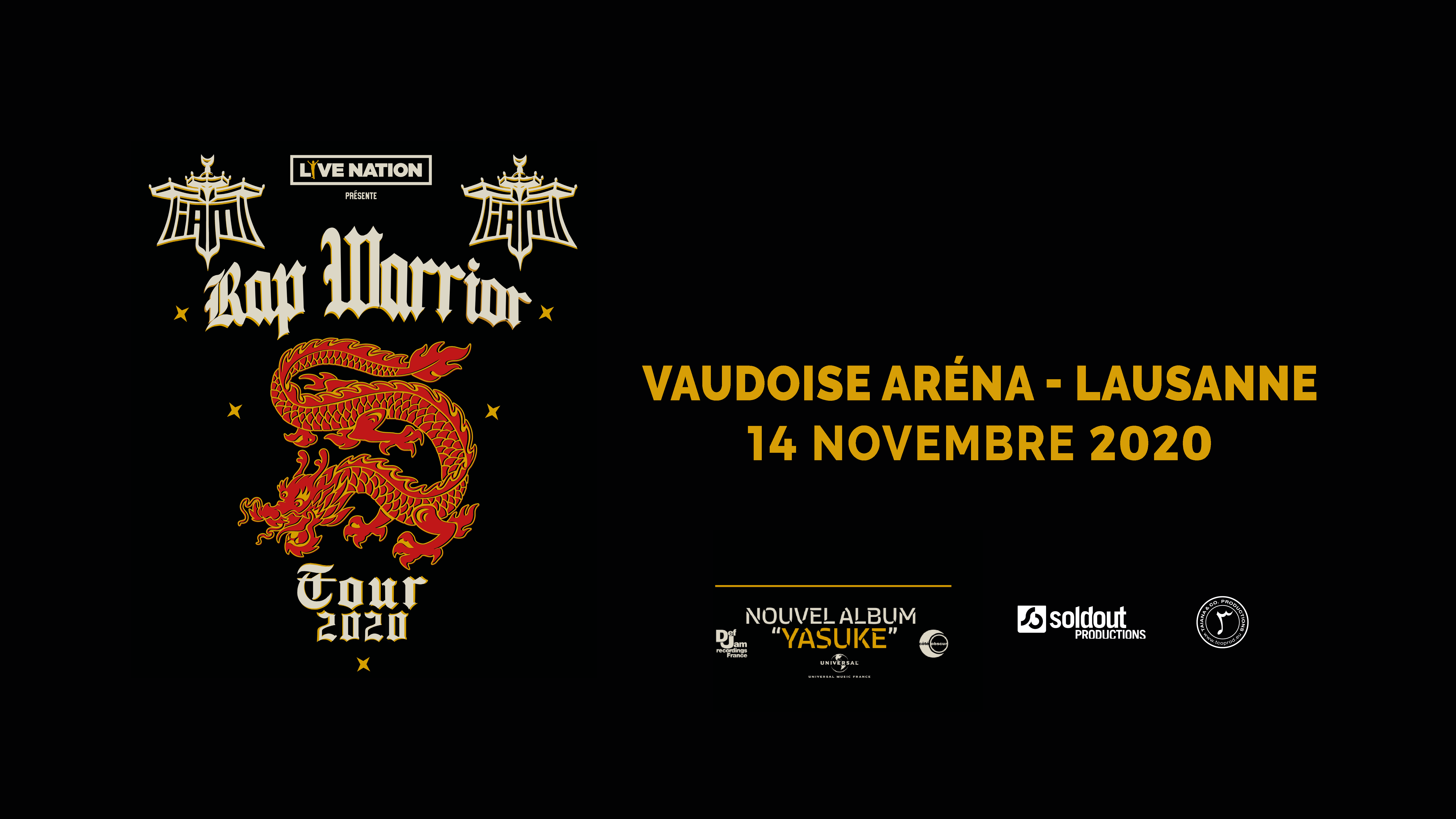 IAM-Rap Warrior Tour @ Vaudoise Aréna